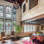 Improve The Interior Look Of A Room By Adding Stained Glass Windows
